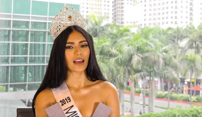 Dalam doa damai, ratu kecantikan Filipina-Palestina mengirimkan cinta untuk keluarga di Gaza