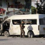 Ledakan Bom di pinggir jalan membunuh 4 orang dan melukai 11 siswa di Afghanistan