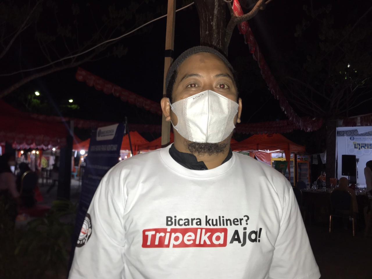 Komunitas Kuliner Kendari Bersama Bank Indonesia Sultra Berbagi dan Sosialisasikan Qris