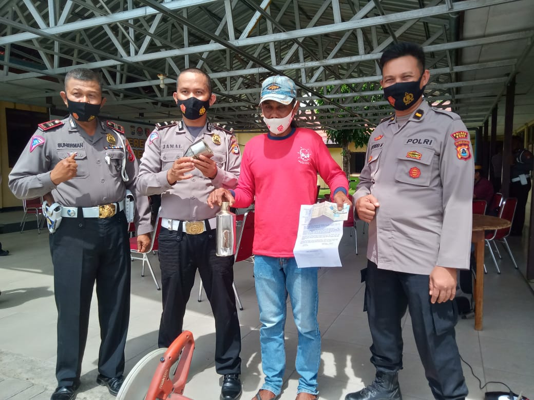 Pelaku balap liar yang terjaring Razia di Bulan Ramadhan Akan di Tes Baca Alqur'an