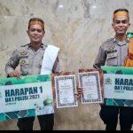 Raih Harapan 1 dan 2 pada Audisi Da'i Polisi Tahun 2021, Kapolres Bone Sampaikan Rasa Syukur