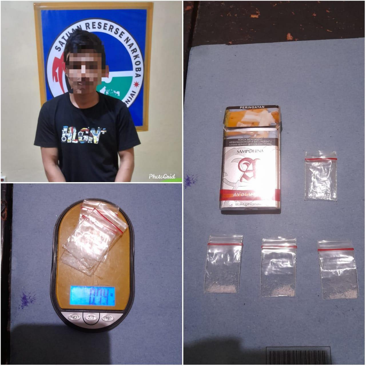 Miliki Sabu, Warga Bone Diringkus Sat Narkoba Polres Sinjai di Kamar Hotel