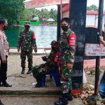 Libur Lebaran, Polsek Tellu Siattenge bersama Koramil 04 Perketat Pengawasan dan Pengamanan di Obyek Wisata