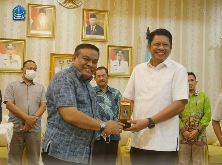 Wali Kota Bontang Kalimantan Timur Berkunjung ke Kabupaten Bone, Ini Tujuannya