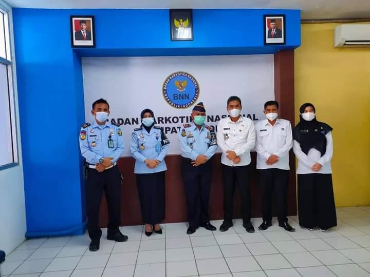 Bangun Koordinasi Lintas Sektor, Kalapas Kelas IIA Watampone Kunjungan ke Mako Brimob Den C Pelopor