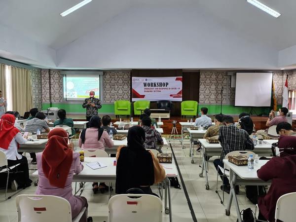 Antisipasi Bencana, EMT IDI Bersama Kemenaker menggelar workshop pelatihan penanganan kegawat daruratan