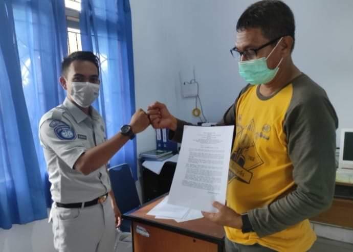 Jasa Raharja Sulawesi Tenggara Berikan Kepastian Jaminan Untuk Penumpang Kapal Laut