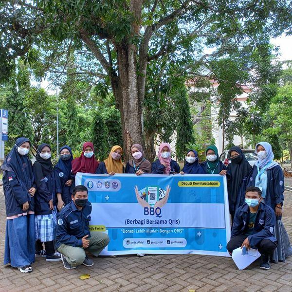 GenBI Kom UIN Alauddin Makassar Sosialisasikan QRIS Sebagai Media Penyaluran Donasi ke Sejumlah Masjid dan Pantiasuhan
