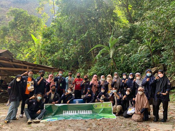 Kurangi Pencemaran Lingkungan, GenBI Kom UIN Alauddin Makassar Kembali susun Gerakan PANDAWA