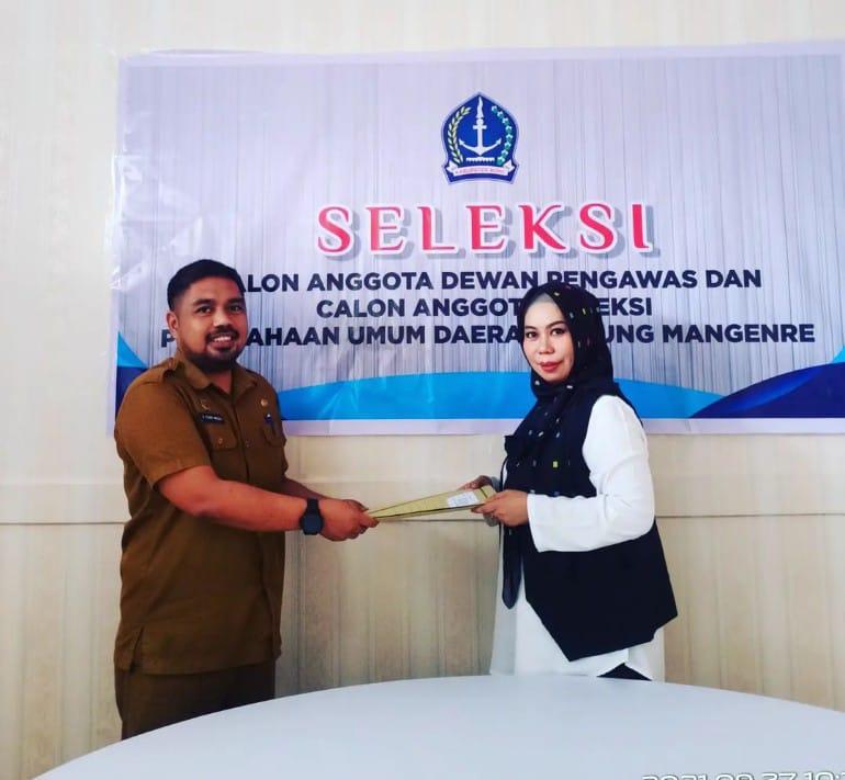 Penutupan Pendaftaran Calon Direktur Perusda Ellung Mangenre, Rahmawati Rahmanberharap proses seleksi berjalan lancar dan objektif