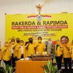 Sukseskan Konsolidasi Pilpres dan Pileg 2024, DPD Partai Golkar Kota Kendari Gelar Rakerda dan Rapimda