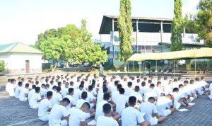 Danrem 141 Pantau Seleksi Calon Siswa Cata PK TNI-AD Gelombang II Tahun 2021