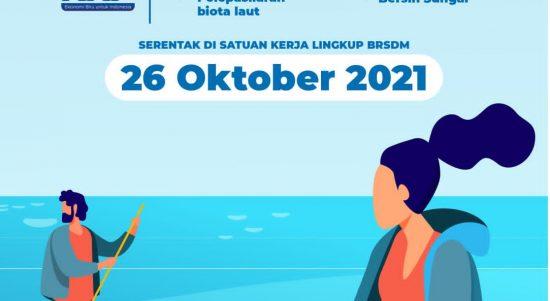 Jelang HUT KKP Ke-21, Satuan pendidikan kelautan dan perikanan akan menggelar aksi bersih pantai dan penanaman mangrove